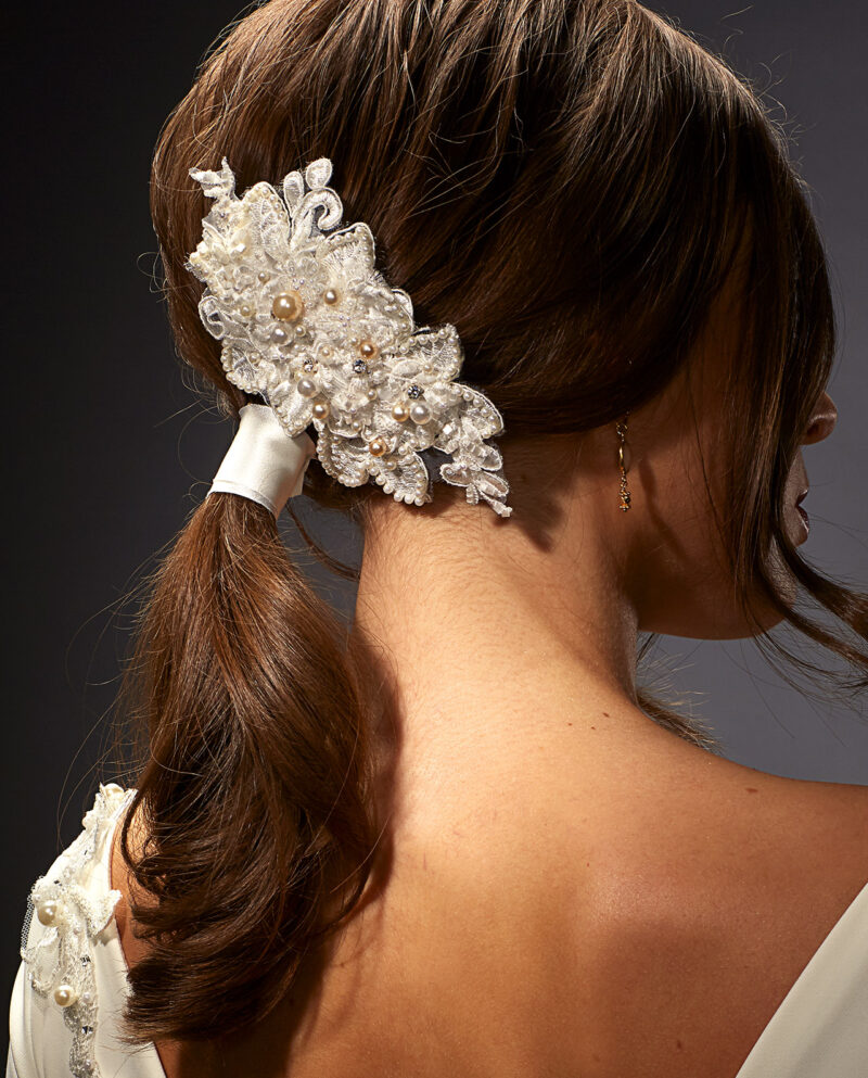 Dietrich Headpiece. Hårpynt. Luxury Bridal Wear. Gudnitz Copenhagen