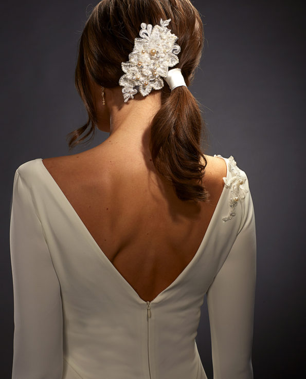 Dietrich Headpiece. Hårpynt. Luxury Bridal Wear. Gudnitz Copenhagen