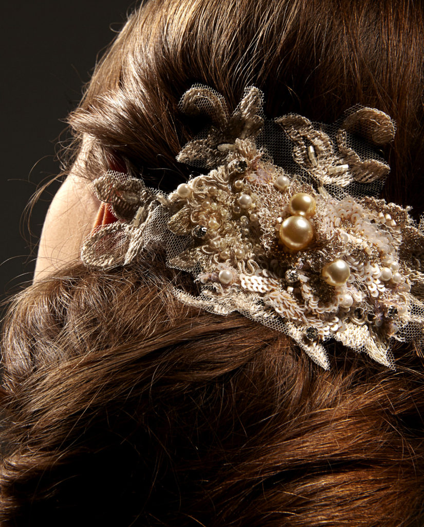 Harlow headpiece by Gudnitz Copenhagen