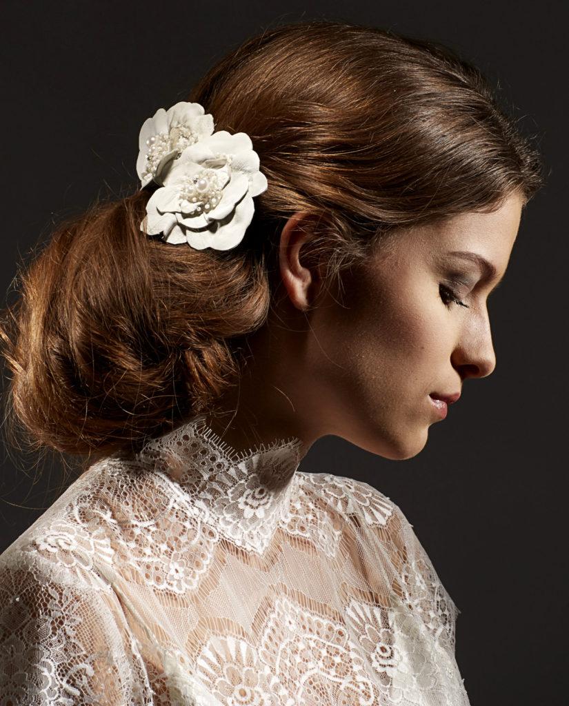 Tailor headpiece by Gudnitz Copenhagen