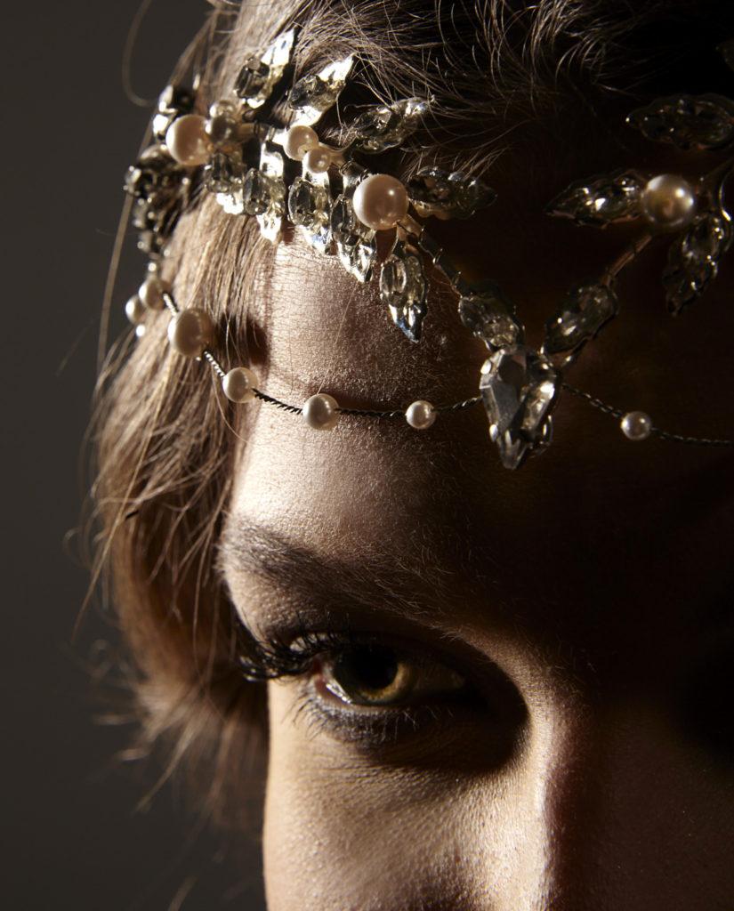 Turner headpiece by Gudnitz Copenhagen