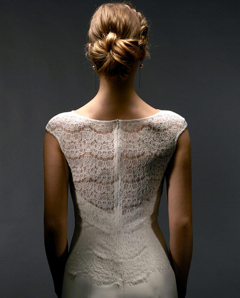Lane lace top. Wedding lace top by Gudnitz Copenhagen
