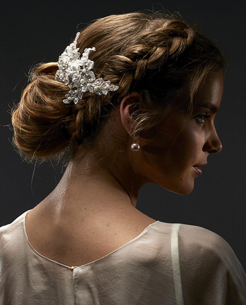 Reynolds headpiece. Wedding accessories by Gudnitz Copenhagen