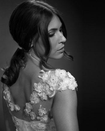 Bennett Top. Luxury Bridal Wear. Brudetilbehør. Brudetop. Gudnitz Copenhagen