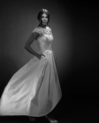Sophia White Label with Bennett Top. Luxury Bridal Wear. Wedding Accessories. Brudetilbehør. Gudnitz Copenhagen