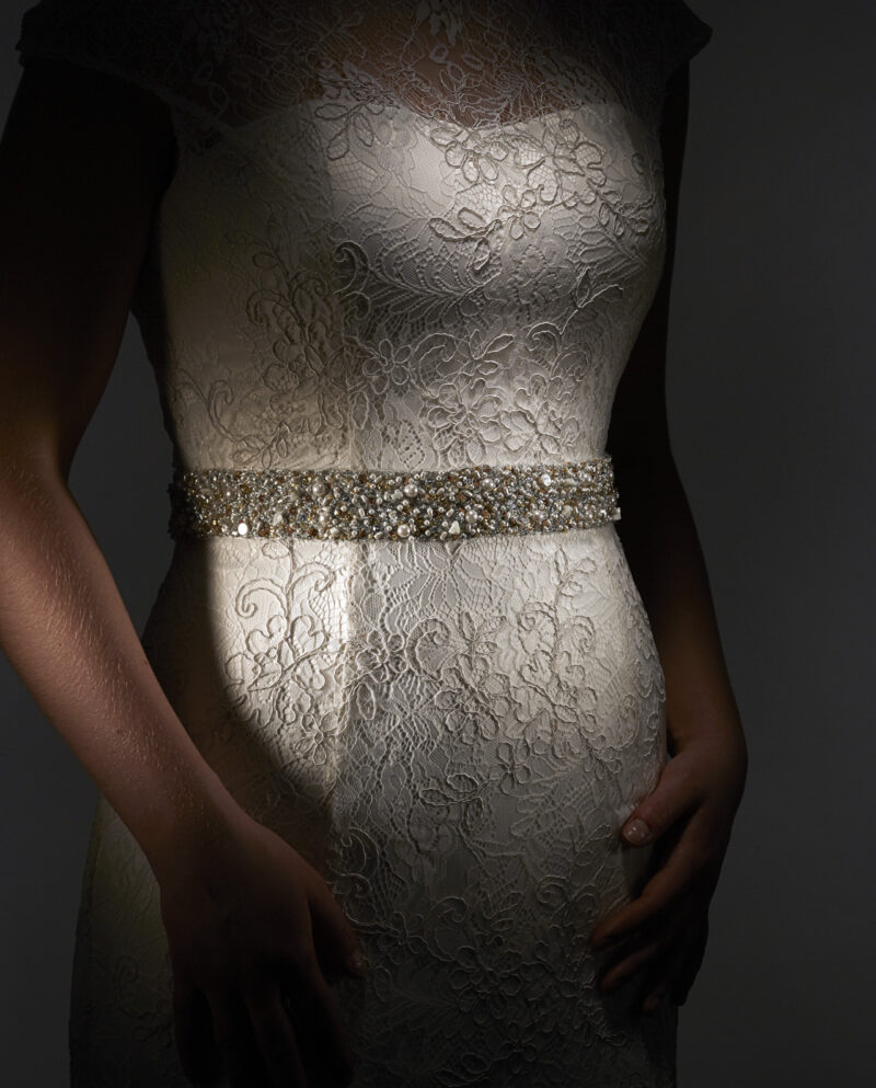 Hepburn Sash. Weddingsash. Brudebælte. Luxury Bridal Wear. Gudnitz Copenhagen