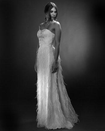 Sasha White Label. Weddingdress. Luxury Bridal Wear. Gudnitz Copenhagen