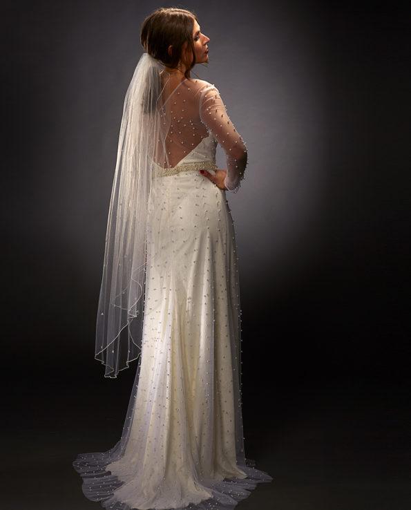 Garland Veil. Garland Slør. Brudeslør. Wedding Veil. Luxury Bridal Wear. Gudnitz Copenhagen