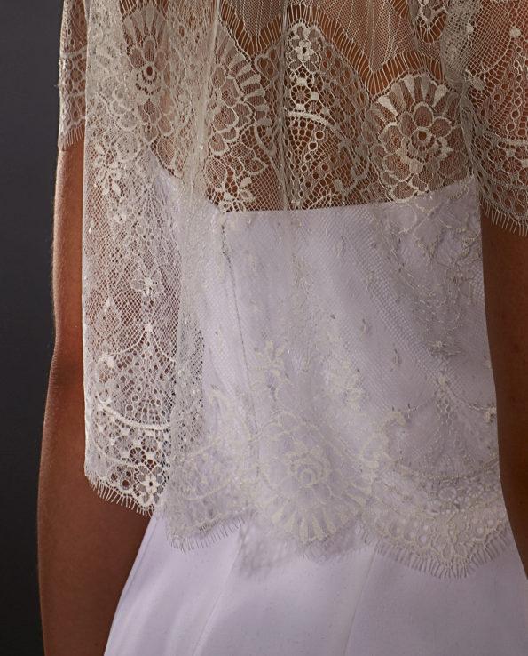 Malone Top. Luxury Bridal Wear. Brudetilbehør. Brudetop. Gudnitz Copenhagen