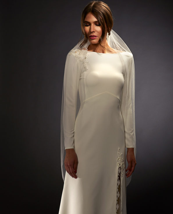 Gardner wedding veil. Brudeslør. Brudetilbehør. Luxury Bridal Wear. Gudnitz Copenhagen