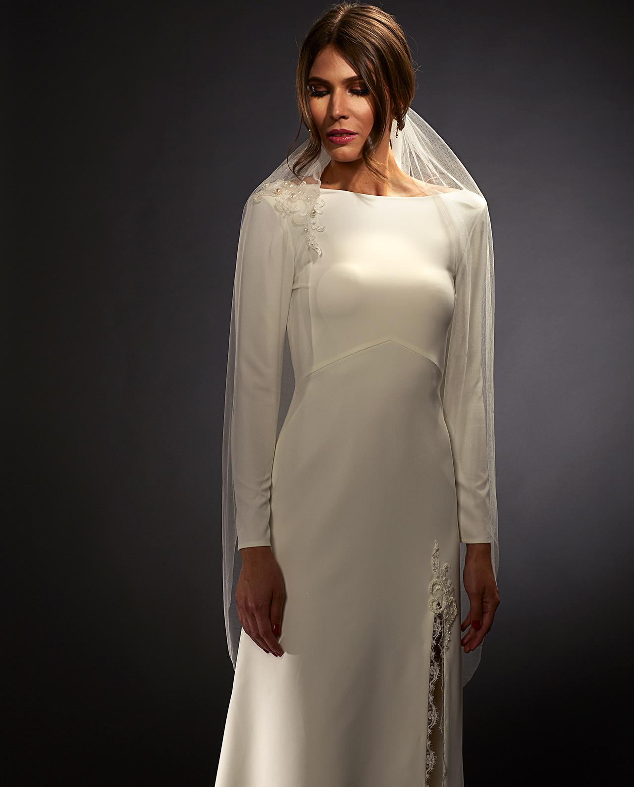 fe16a01cc334 Gardner wedding veil. Brudeslør. Brudetilbehør. Luxury Bridal Wear. Gudnitz  Copenhagen