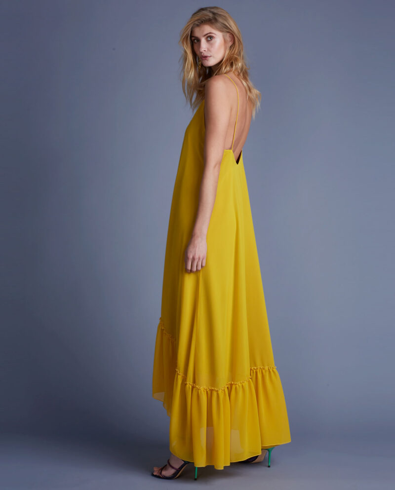 Gudnitz Copenhagen. SS02 Augusta Yellow Dress. Going Out!. Dress. Dresses. Party dress. Cocktail dress. Evening wear. Dinner dress. Party dress. Designer dress. Casual dress. Summer dress. Spring dress