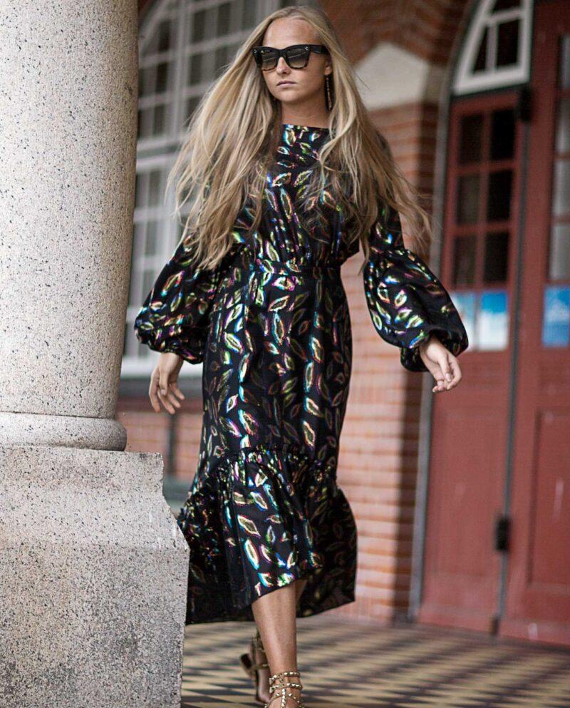 Yasmin Black Dress. Gudnitz Copenhagen