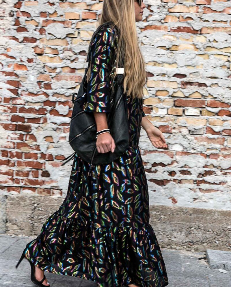 AW28 Ava Dress. Black dress. Partydress. Gudnitz Copenhagen