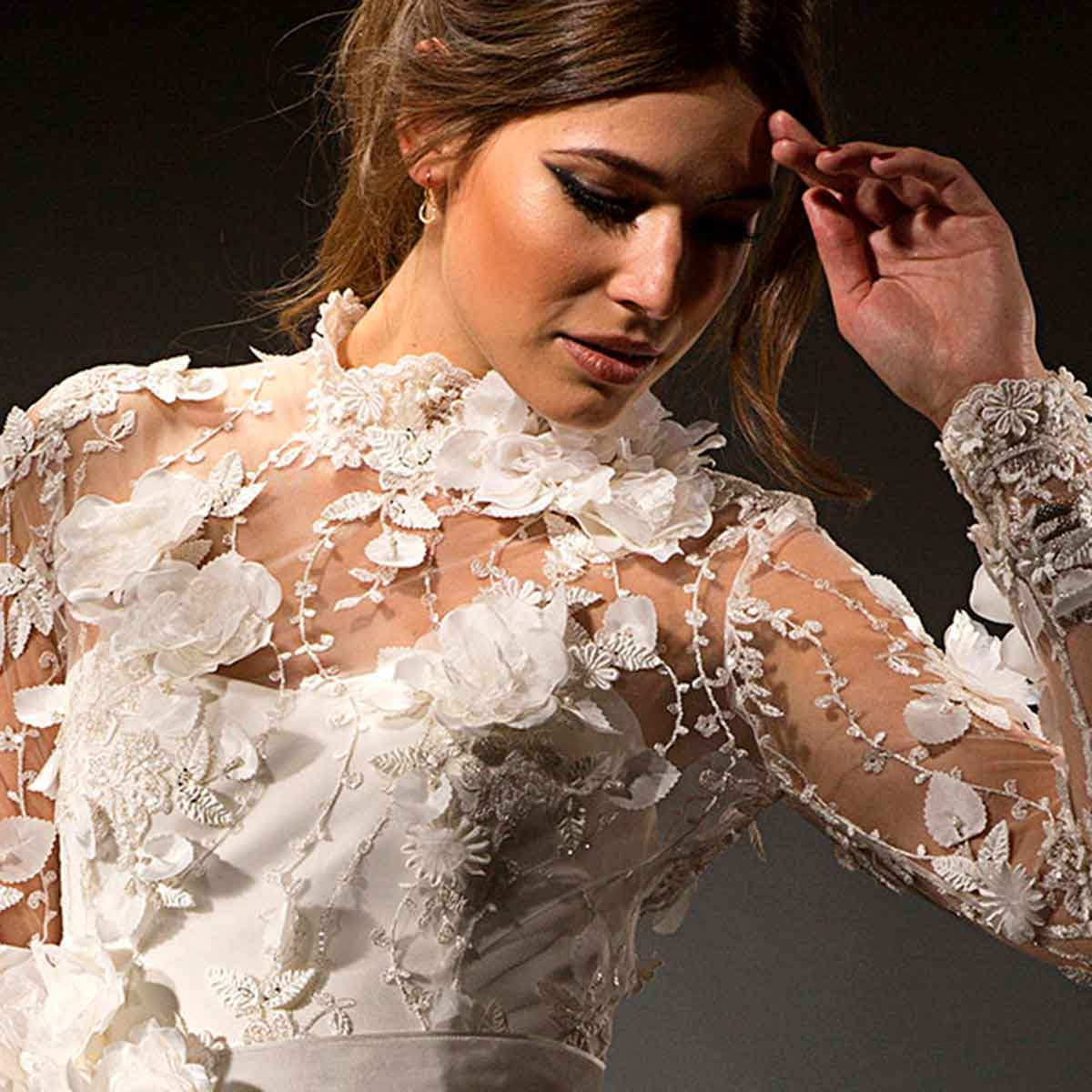 Harper wedding dress designed by Rikke Gudnitz, Gudnitz Copenhagen