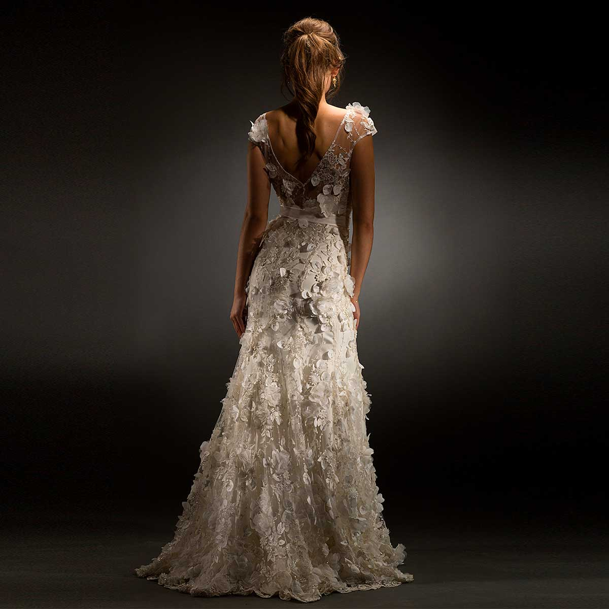 Claudia wedding dress designed by Rikke Gudnitz, Gudnitz Copenhagen