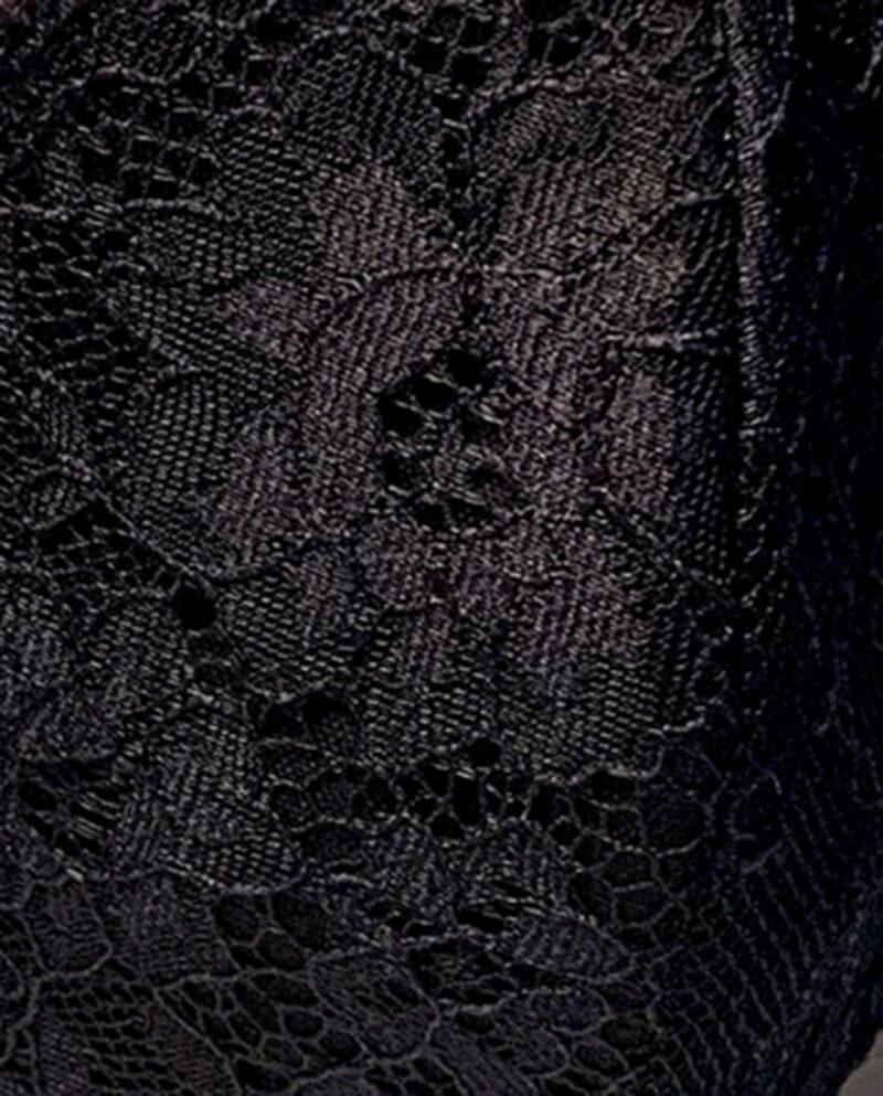 Mouthpiece in black lace by Gudnitz Copenhagen